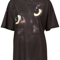 Gothic Cat Tee - New In This Week  - New In
