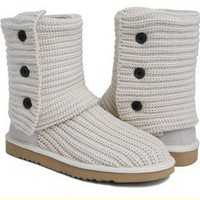 Cream Natural Classic Cardy UGG Boots [5819 Sand] - $76.69 :