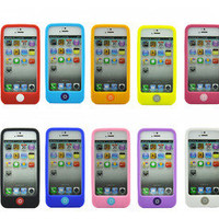 1X for Apple iPhone 5 5th 5G Gen protective soft silicone case cover skin shell