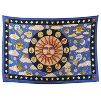 Cloud Zodiac Tapestry