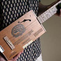Acoustic Cigar Box Guitar No. 49 Padron 2000
