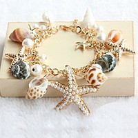 Beach Holiday Starfish Bracelet