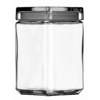 Anchor Hocking 1.5 Quart Stackable Glass Jar with Glass Lid | Wayfair