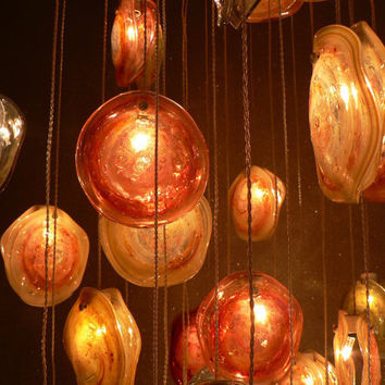 Glass blowing lighting in Artistic Design Sicily by LightingDesign