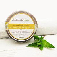 Natural Baby Balm, Organic For Dry Sensitive Skin, theteam elitett mustard yellow autumn home Soothe and Protect