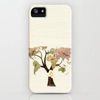 Earth Tree (Birds) iPhone Case by Belle13 | Society6
