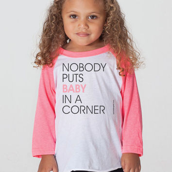 Nobody Puts Baby In A Corner - Kids Jersey - FREE SHIPPING