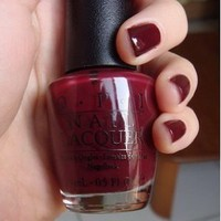 Amazon.com: Opi Nail Polish - Mrs O'leary's Bbq #W44: Beauty