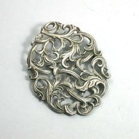 PENDING  ART NOUVEAU Brooch Pendant Combo 800 by KatcherrFancy