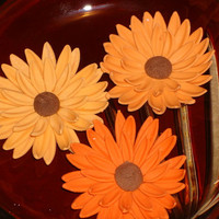 Gum Paste  Autumn Gerbera Daisies