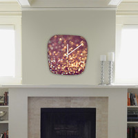 DENY Designs Home Accessories | Lisa Argyropoulos Mingle 1 Modern Clock