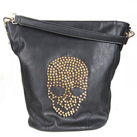 Studded Skull Bag | Sexy Clothes Womens Sexy Dresses Sexy Clubwear Sexy Swimwear | Flirt Catalog