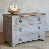 Antique Beautiful Swedish Commode in Blue c 1880 - $6995 - The Bella Cottage