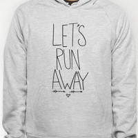 Let's Run Away Hoody by Leah Flores | Society6