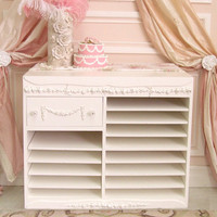 Bella Rose 1 Drawer Fancy Office Organizer - &amp;#36;850 - The Bella Cottage