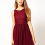 Glamorous Prom Dress With Lace at asos.com
