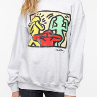 Junk Food Keith Haring Proverbial Sweatshirt