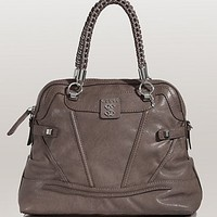 Sidney Dome Satchel at GUESS