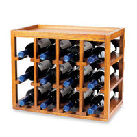Wine Enthusiast 12-Bottle Wooden Wine Rack - Bed Bath & Beyond