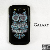 Vinage Owl Samsung Galaxy S3 Hard Cover Case