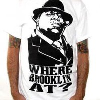 ROCKWORLDEAST - Notorious BIG, T-Shirt, Where Brooklyn At