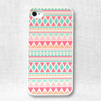 iPhone Case, iPhone 4 Case, iPhone 4S Case, iPhone Case 4/4S - Aztec Pattern - 043