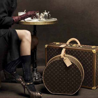 Louis Vuitton 2 piece luggage set