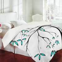 DENY Designs Home Accessories | Madart Inc. Garden Delight Aqua Breeze