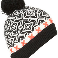 Aztec Neon Beanie - Winter Accessories  - Accessories