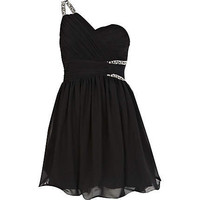 Black Little Mistress asymmetric dress