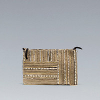 ETHNIC CLUTCH BAG - Handbags - Woman - ZARA United States
