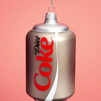 Diet Coke Ornament