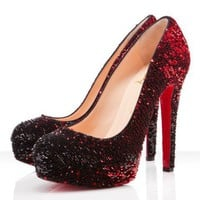 Christian Louboutin Bianca 140mm Red