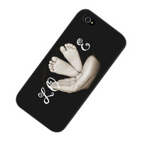 Baby Feet iPhone Case, iPhone 5 Case, iPhone 5 Cover, Maternity iPhone Case, Accessories for iPhone, Love iPhone Case, Baby Shower Gift