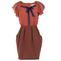 rosalie tweed waist dress by kiki's | notonthehighstreet.com