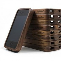 Walnut Wood iPhone4/4s Case