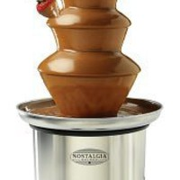 Nostalgia Electrics? CFF-986 3-Tier Stainless Steel Chocolate Fondue Fountain, Nostalgia Products Group - Barnes & Noble