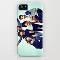 One Direction Group Shot 2 iPhone Case by Toni Miller | Society6