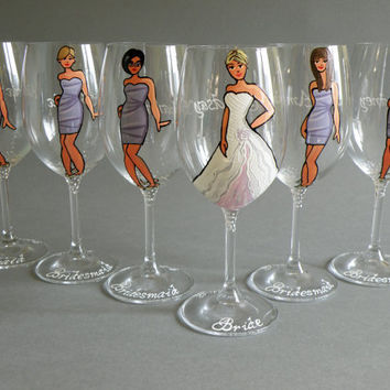Sale Hand Painted Bridal Shower Party From Pastinshs On Etsy