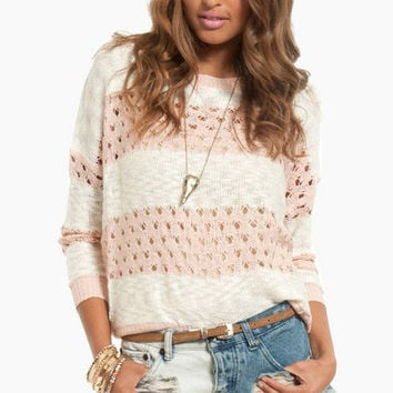 Lightweight Striped Sweater $39