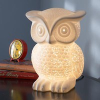 The Land of Nod: Owl Lamp Nightlight
