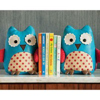 zoo owls bookends
