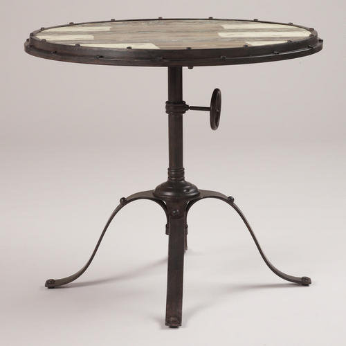 Hughes Industrial Accent Table | World Market