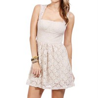 Stone Lace Dress