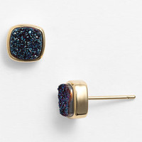 Marcia Moran Square Drusy Stud Earrings | Nordstrom