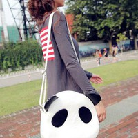 Lady Girls fashion Cute Panda PU Leather Handbag Shoulder Bag Cross Body