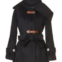 Chicwish Haute Coat in Black - Tops - Retro, Indie and Unique Fashion