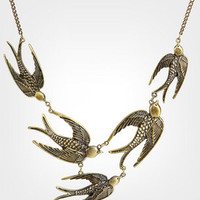 Flock Of Birds Necklace