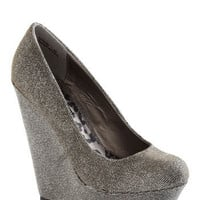 Walk and Roll Wedge in Pewter | Mod Retro Vintage Wedges | ModCloth.com