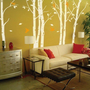 Children Wall Decals Vinyl Sticker Leafy Birch by walldecors